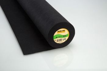Charcoal Medium Weight Standard Sew-in Non-Woven Interfacing/Interlining by Vilene Vlieseline 90cm wide