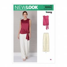 New Look 6662 Sewing Pattern