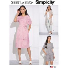 Simplicity 8891 Sewing Pattern