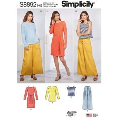 Simplicity 8892 Sewing Pattern