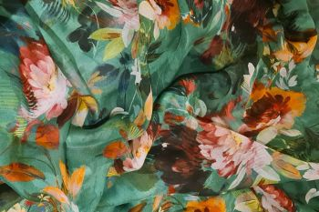 Lady McElroy Abstract Blooms - Jade