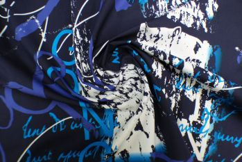 Lady McElroy Art Work - Navy Remnant - 3.6m