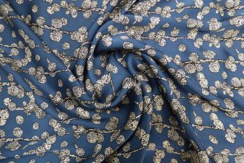 Lady McElroy Blossom Buds - Smoke Blue Seconds Remnant - 1.6M