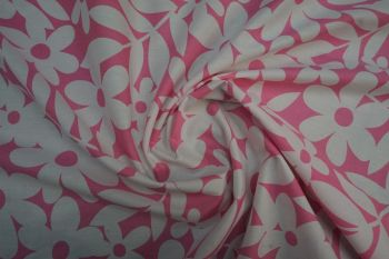 Lady McElroy Daisy Mania - Hot Pink Faulty Remnant - 1.4m