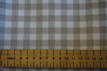 Gingham Check - Beige