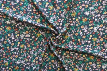 Lady McElroy Floral Jazz - Viscose Morracain Crepe