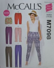 McCall's M7098 Sewing Pattern