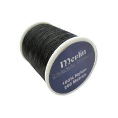 Merlin Invisible Nylon Filament Thread - Black