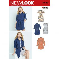 New Look 6449 Sewing Pattern