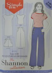Simple Sew The Shannon Collection Sewing Pattern