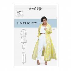 Simplicity 9114 Sewing Pattern