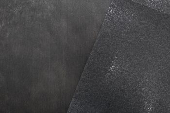 Standard Charcoal Woven Non-Stretch Iron-On Light-Medium Weight Interfacing Remnant - 2.8m