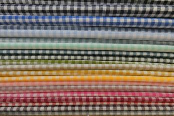 SW533 - Yarn-Dyed Small 3mm Gingham Checks