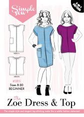 Simple Sew The Zoe Dress & Top Sewing Pattern
